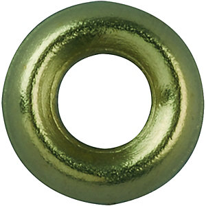 Wickes Brass Screw Cup Washers – No.4 Pack of 20 | DIY SAVA