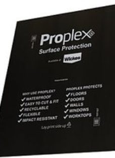Proplex Black Surface Protection Sheet 1200 x 1000 x 2mm