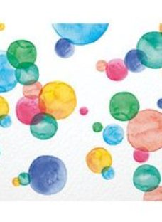 ohpopsi Spots and Dots Wall Mural - L 3m (W) x 2.4m (H)