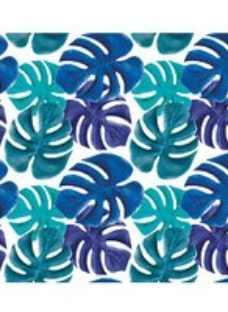ohpopsi Multi Coloured Palm Leaves Wall Mural - XL 3.5m (W) x 2.8m (H)