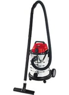 Einhell TE-VC 1930 SA 30 Litre Stainless Steel Wet & Dry Vac with Power Take Off - 1500W