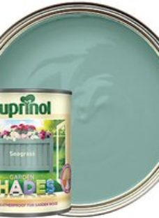 Cuprinol Garden Shades Matt Wood Treatment - Seagrass 1L