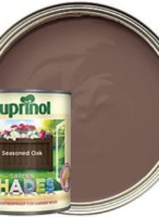 Cuprinol Garden Shades Matt Wood Treatment - Seasoned Oak 1L