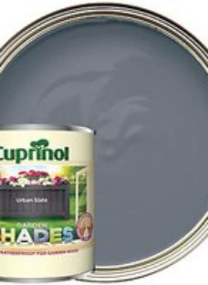 Cuprinol Garden Shades Matt Wood Treatment - Urban Slate 1L