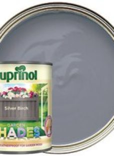 Cuprinol Garden Shades Matt Wood Treatment - Silver Birch 1L