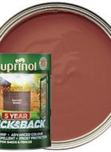 Cuprinol 5 Year Ducksback Matt Shed & Fence Treatment - Harvest Brown 5L
