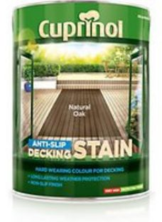 Cuprinol Anti-Slip Decking Stain - Natural Oak 5L