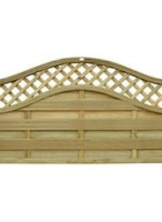 Forest Garden Bristol Fence Panel - 6x3ft Pack of 4