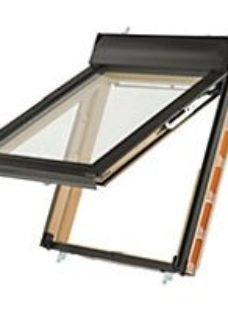 Keylite Pine Top Hung Means of Escape Roof Window - 660 x 1180mm