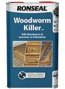 Ronseal Woodworm Killer - Clear 5L
