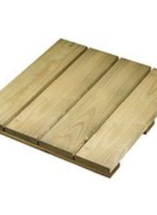 Wickes Softwood Deck Tile - 400mm