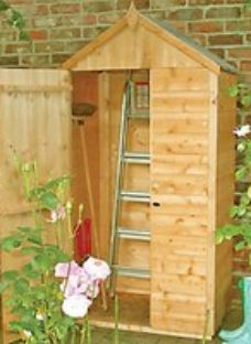 Shire 3 x 2ft Shiplap Timber Tool Store Shed