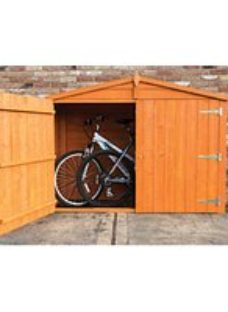 Shire 7 x 3ft Overlap Timber Bike Store Shed
