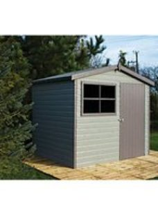 Shire 10 x 8ft Large Timber Apex Shed with Opening Windows