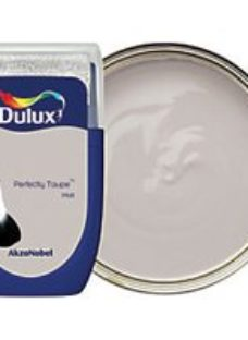 Dulux - Perfectly Taupe - Emulsion Paint Tester Pot 30ml