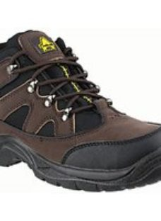 Amblers Safety FS152 Hiker Safety Boot - Brown Size 10