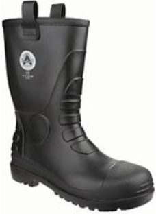 Amblers Safety FS90 Rigger Safety Boot - Black Size 8
