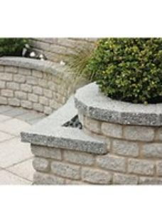 Marshalls Argent Coarse Walling - Light 440 x 140 x 100mm Pack of 90