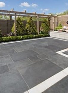 Marshalls Symphony Project Smooth Blue Porcelain Paving Patio Pack -  16.89 M2