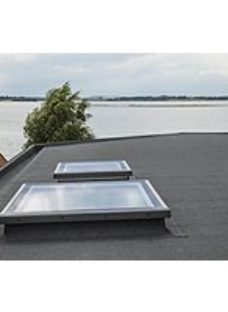 VELUX Flat Roof Flat Glass Cover - 600 x 600mm