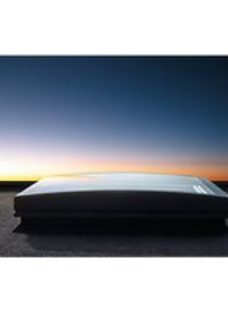 VELUX Flat Roof Curved Glass Cover - 800 x 800mm
