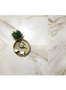 Boutique Calacatta Gold Lux Glazed Porcelain Wall & Floor Tile 600 x 600mm