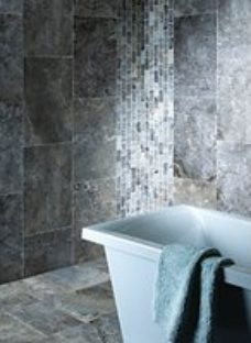 Boutique Anatolian Grey Honed & Filled Travertine Wall & Floor Tile 610 x 406mm