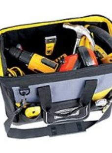 Stanley 1-96-183 Open Mouth Tool Bag - 16in
