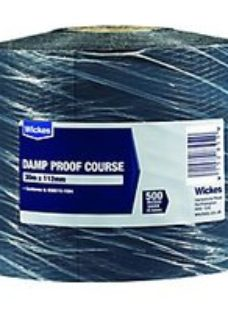 Wickes Damp Proof Course - 112.5mm x 30m