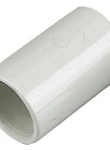 FloPlast OS10W Overflow System Straight Coupling - White 21.5mm Pack of 3