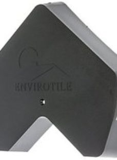 Envirotile Anthracite Gable End Cap - 30 x 300 x 6mm