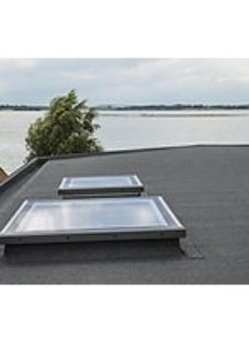 VELUX Flat Roof Flat Glass Cover - 600 x 900mm