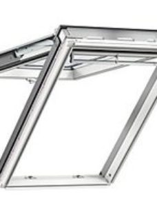 VELUX White Polyurethane Top Hung Roof Window - 1140 x 1180mm