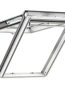 VELUX White Polyurethane Top Hung Roof Window - 660 x 1180mm