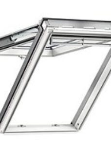 VELUX White Polyurethane Top Hung Roof Window - 1340 x 1400mm