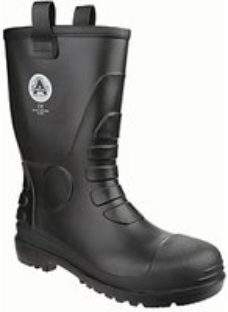 Amblers Safety FS90 Rigger Safety Boot - Black Size 10