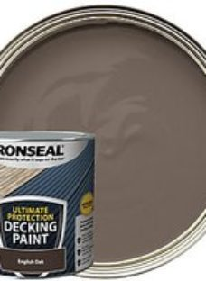 Ronseal Ultimate Protection English Oak Decking Paint - 2.5L