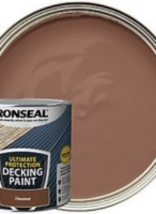 Ronseal Ultimate Protection Chestnut Decking Paint - 2.5L