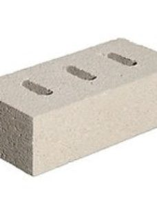 Marshalls White Capel Perforated Facing Brick - 215 x 100 x 65mm - Pack of 416