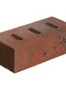 Marshalls Red/Black Winterborne Berry Perforated Facing Brick - 215 x 100 x 65mm - Pack of 416