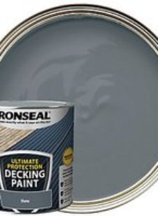 Ronseal Ultimate Protection Slate Decking Paint - 2.5L