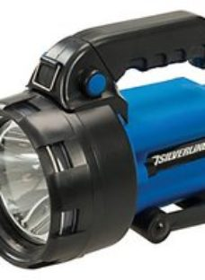 Silverline 3W Lithium Rechargeable Torch