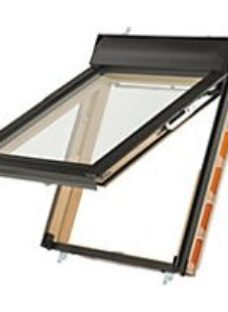 Keylite Pine Top Hung Means of Escape Roof Window - 780 x 980mm