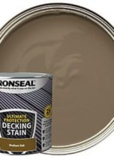 Ronseal Ultimate Protection Medium Oak Decking Stain - 2.5L