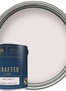 CRAFTED™ by Crown Flat Matt Emulsion Interior Paint - Softly Does It™ - 2.5L